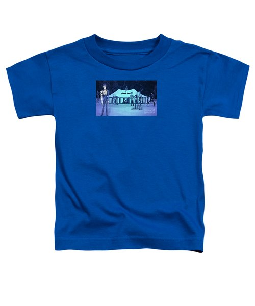Toddler T-Shirt featuring the photograph Clown Tent by Nareeta Martin