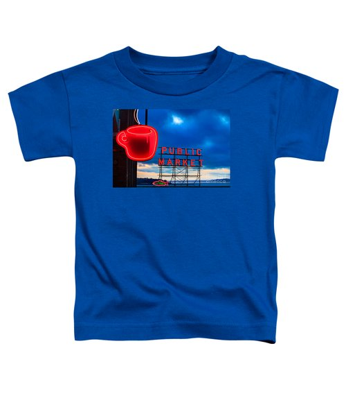 Coffee Clouds Toddler T-Shirt