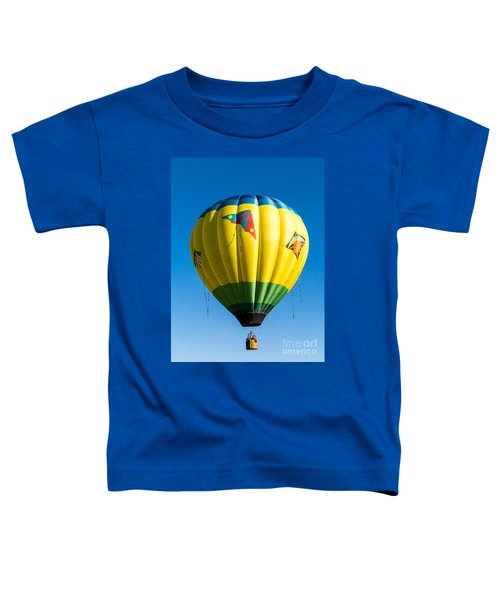 Colorful Hot Air Balloon Over Vermont Toddler T-Shirt