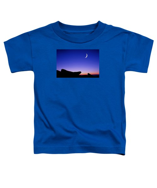 Crescent Moon Halibut Pt. Toddler T-Shirt
