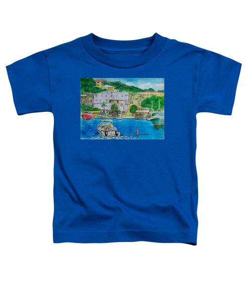 Cruz Bay St. Johns Virgin Islands Toddler T-Shirt