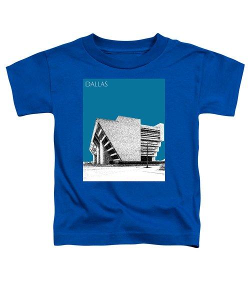 Dallas Skyline City Hall - Steel Toddler T-Shirt