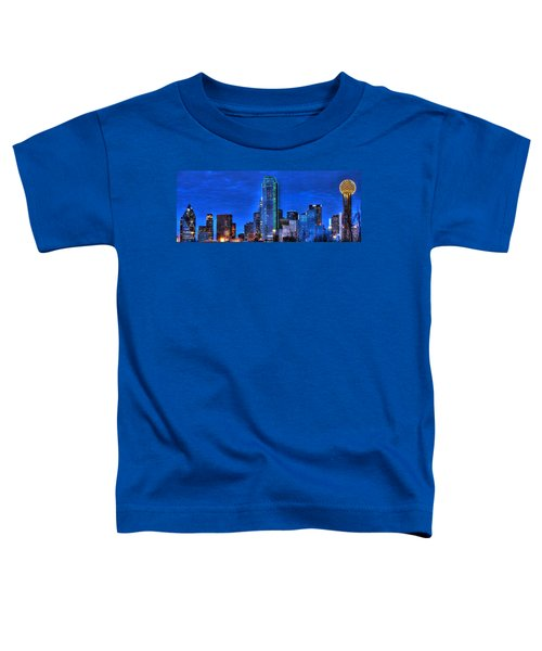 Dallas Skyline Hd Toddler T-Shirt