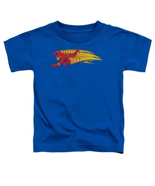 Dc - Fastest Man Alive Toddler T-Shirt
