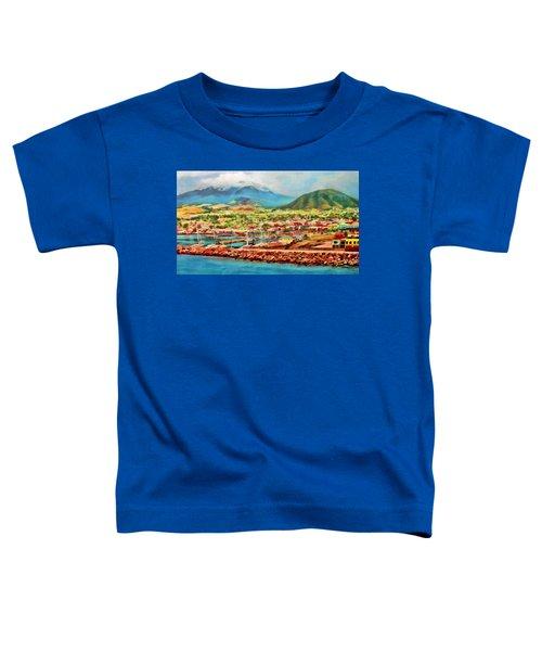 Docked In St. Kitts Toddler T-Shirt