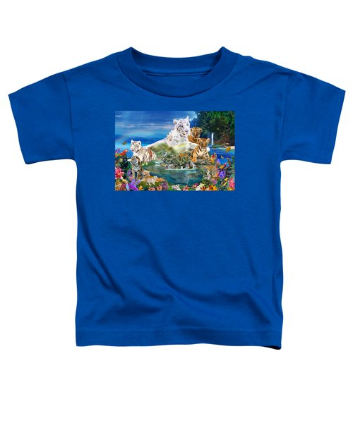 Dreaming Of Tigers  Variation  Toddler T-Shirt