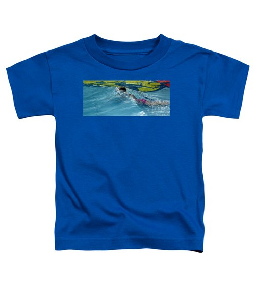 Ducking Under A Wave In A Pool Toddler T-Shirt