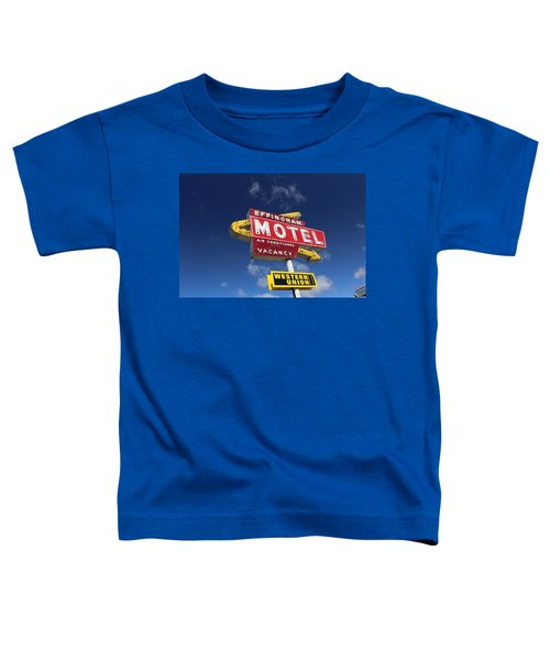 Effingham Motel Toddler T-Shirt