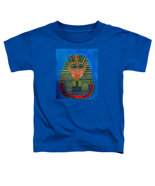 Toddler T-Shirt featuring the painting Egypt Ancient  by Colette V Hera  Guggenheim
