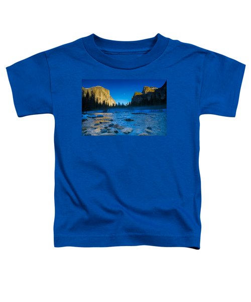 El Capitan And Half Dome Toddler T-Shirt