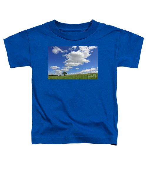 Fluffy Clouds Over Epsom Downs Surrey Toddler T-Shirt