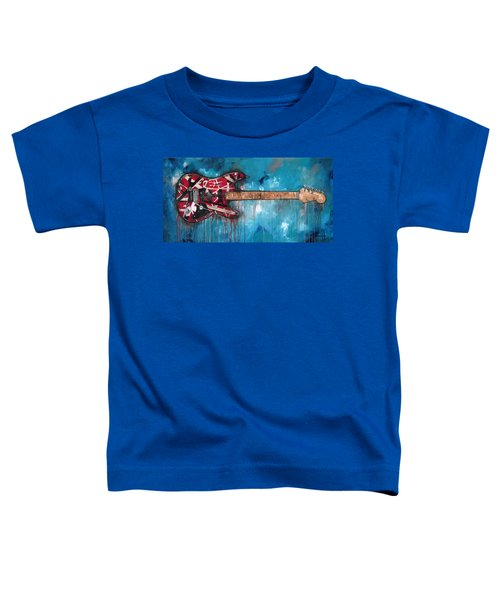Frankenstrat Toddler T-Shirt