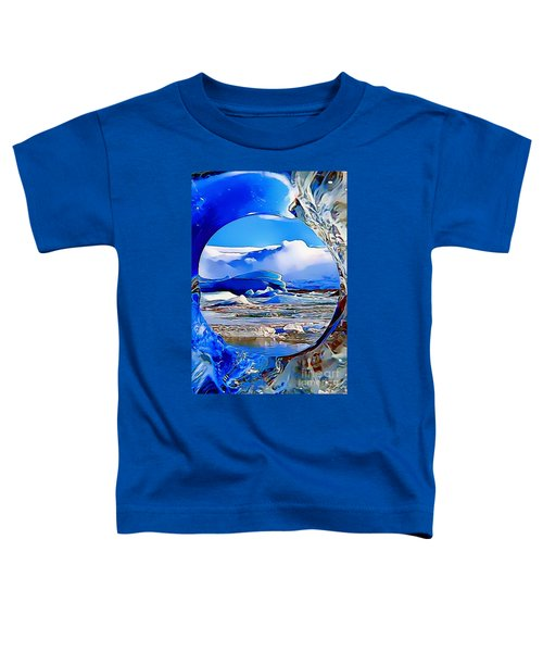 Glacier Toddler T-Shirt