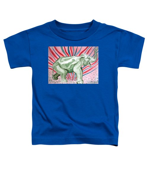 Gleeful Elephant Toddler T-Shirt