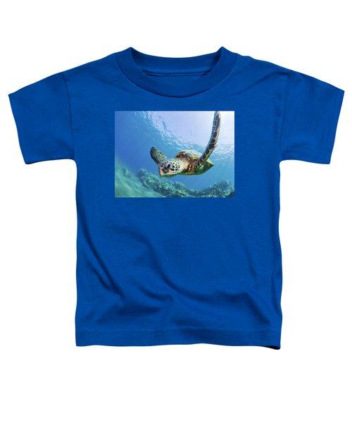Green Sea Turtle - Maui Toddler T-Shirt