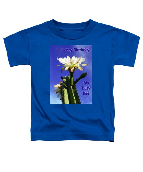 Happy Birthday Card And Print 13 Toddler T-Shirt