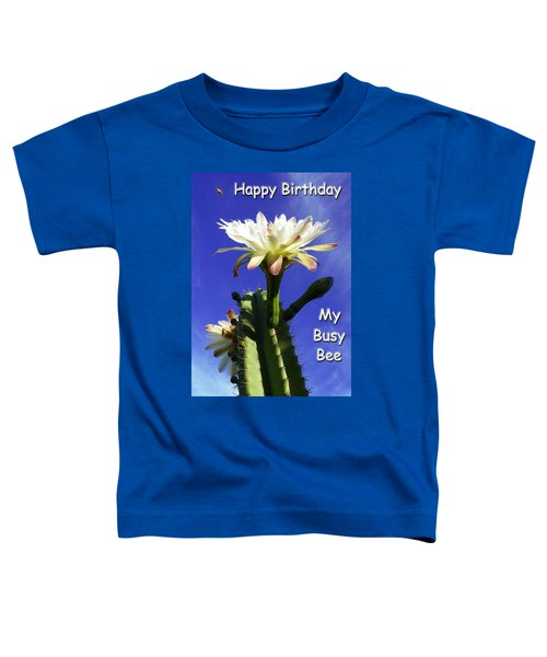 Happy Birthday Card And Print 14 Toddler T-Shirt