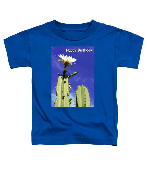 Happy Birthday Card And Print 17 Toddler T-Shirt