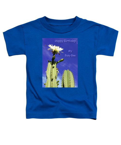 Happy Birthday Card And Print 20 Toddler T-Shirt