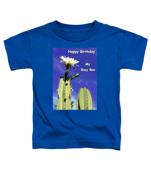 Happy Birthday Card And Print 22 Toddler T-Shirt