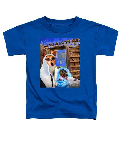 Happy Hanukkah  - 2 Toddler T-Shirt
