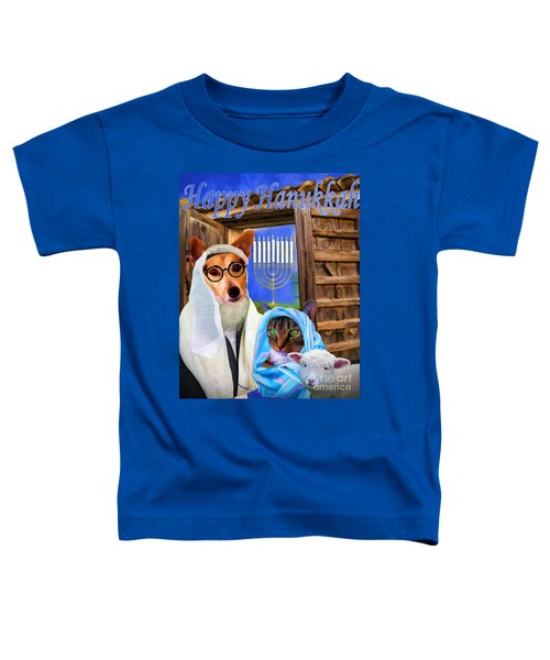 Happy Hanukkah  - 2 Toddler T-Shirt