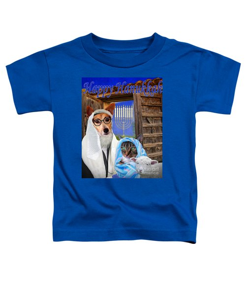 Happy Hanukkah -1 Toddler T-Shirt