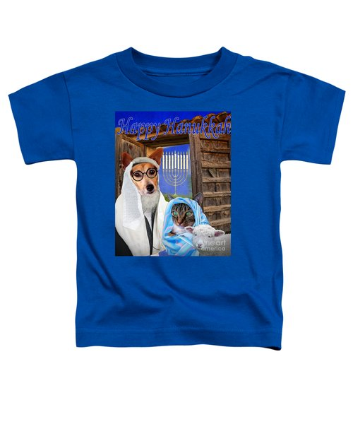 Happy Hanukkah -1 Toddler T-Shirt