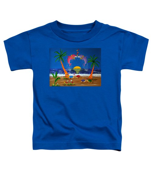 Hawaiian Island Love Toddler T-Shirt