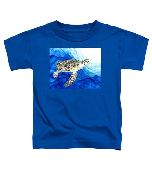 Hawksbill Sea Turtle 2 Toddler T-Shirt