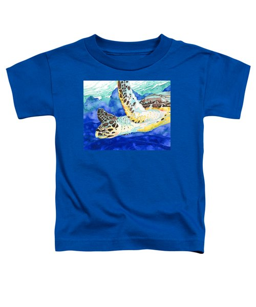 Hawksbill Sea Turtle Toddler T-Shirt