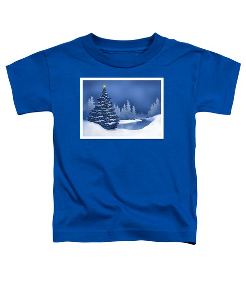 Icy Blue Toddler T-Shirt