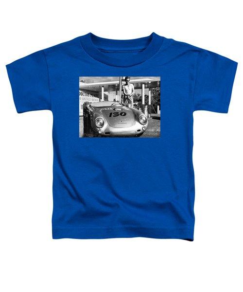 Last Picture Taken Of James Dean Toddler T-Shirt