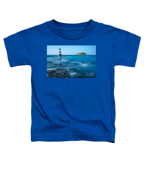 Lighthouse At Penmon Point Toddler T-Shirt