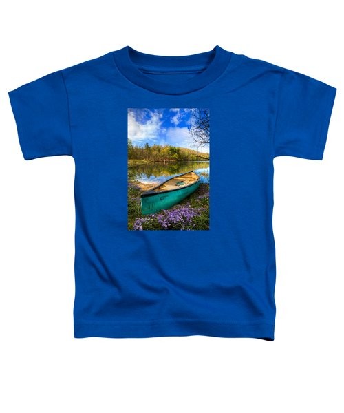 Toddler T-Shirt featuring the photograph Little Bit Of Heaven by Debra and Dave Vanderlaan