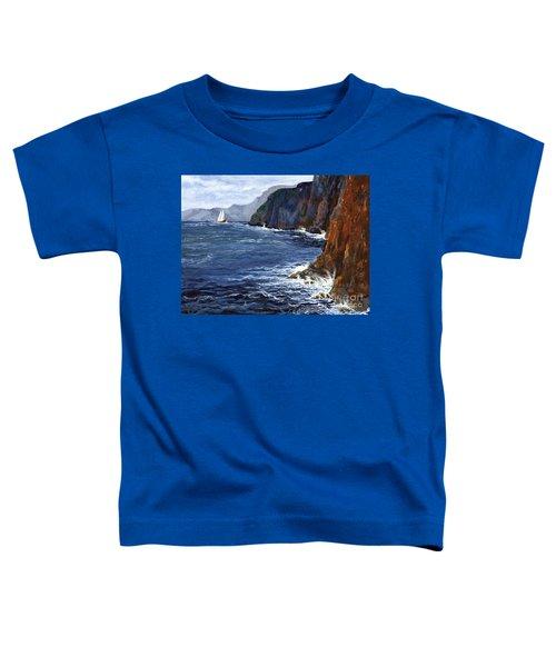 Lonely Schooner Toddler T-Shirt