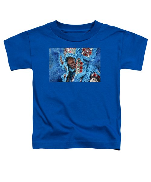 Mardi Gras Indian Toddler T-Shirt