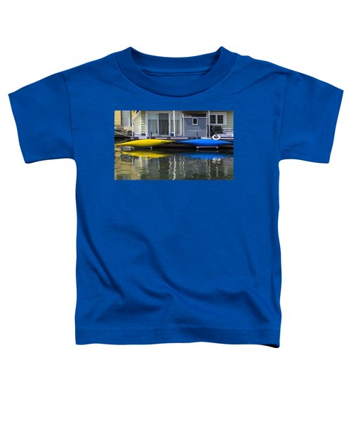 Marina Living In Victoria British Columbia Toddler T-Shirt