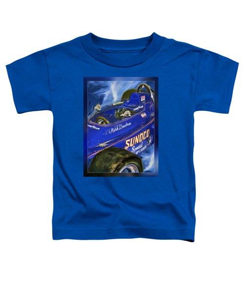 Mark Donohue 1972 Indy 500 Winning Car Toddler T-Shirt