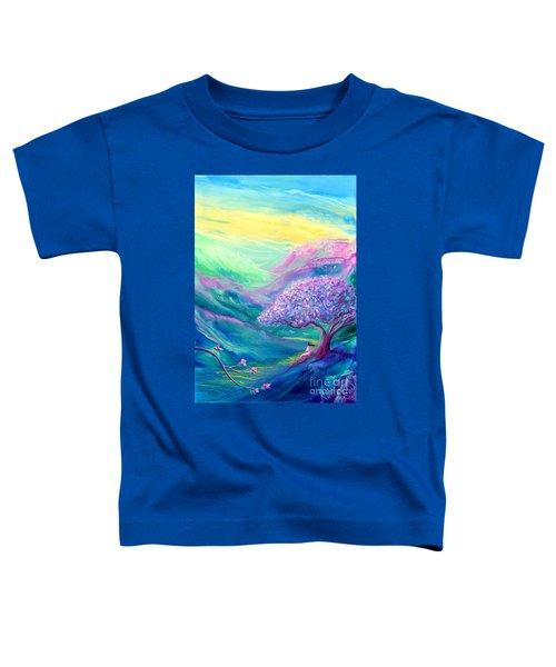 Meditation In Mauve Toddler T-Shirt