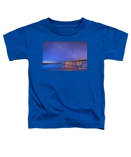 Milky Way Sunrise Toddler T-Shirt