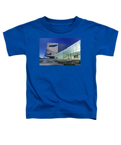 Minneapolis Skyline Photography Walker Art Museum Toddler T-Shirt