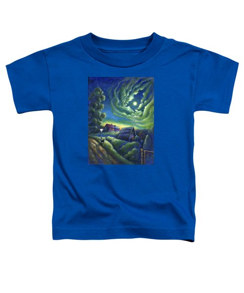 Moonlit Dreams Come True Toddler T-Shirt