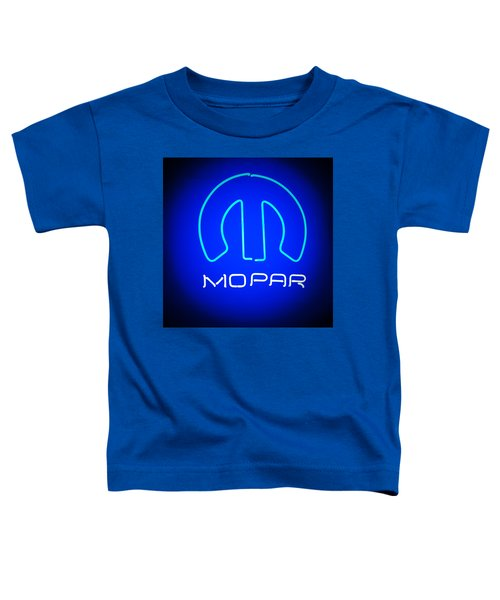 Mopar Neon Sign Toddler T-Shirt