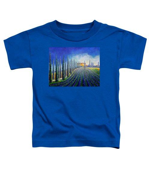 Lavender Field Toddler T-Shirt