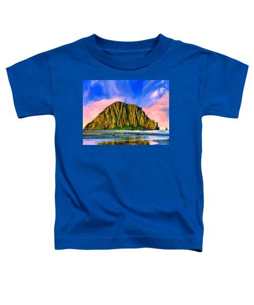 Morro Rock Sunset Toddler T-Shirt