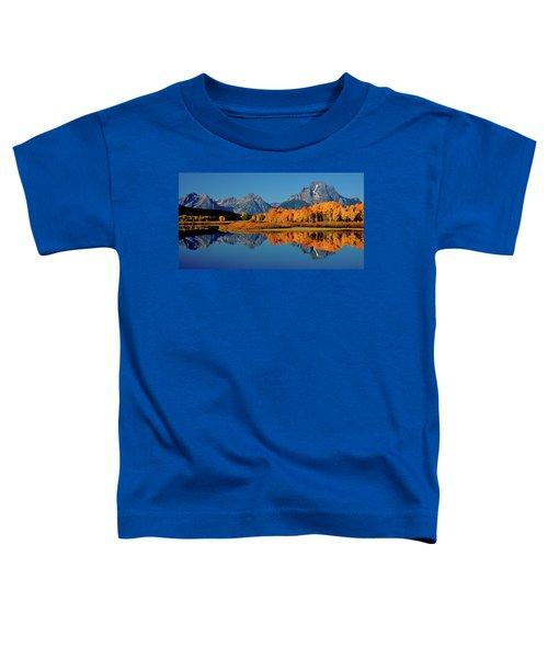 Mt. Moran Reflection Toddler T-Shirt