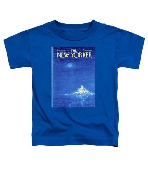 New Yorker December 3rd, 1973 Toddler T-Shirt
