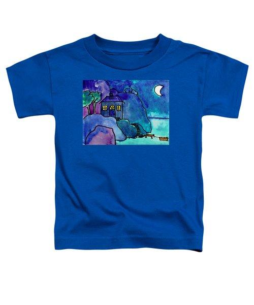 Night Harbor Toddler T-Shirt