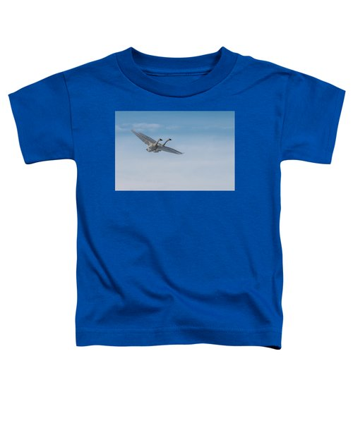 Trumpeter Swan Tandem Flight I Toddler T-Shirt
